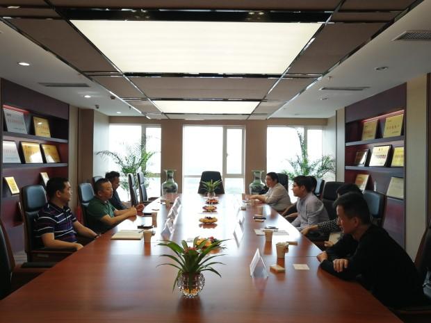 热烈欢迎安徽长江钢铁股份有限公司领导来我司考察